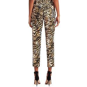 NWT Rachel Comey High Rise Tiger Print Pants Sz 12